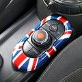 Union Jack Car Center Konsole Multimedia Panel Schlüssel Gehäuse Abdeckung Aufkleber für Mini Cooper JCW F55 F56 Auto Styling Zubehör-in Kfz Innenraum Aufkleber aus Kraftfahrzeuge und Motorräder bei