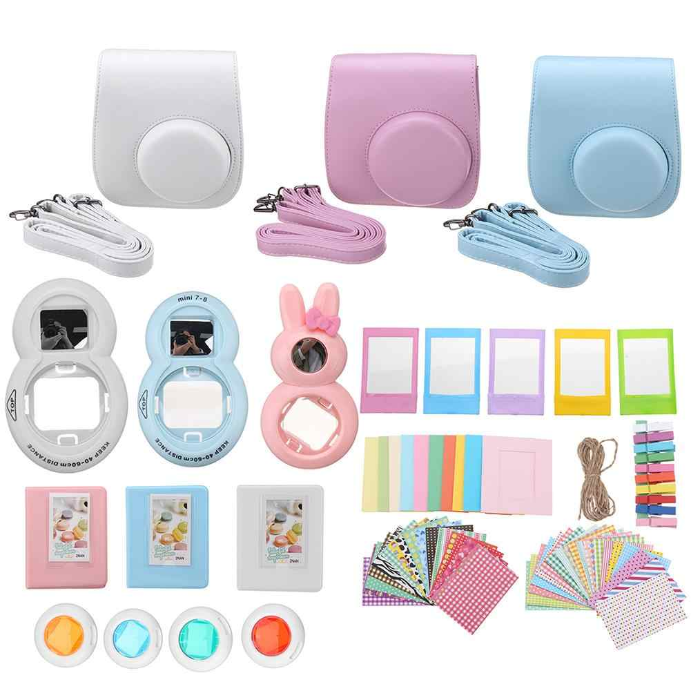 9 in 1 Camera Case Album Lens Accessories Set for Fujifilm Instax Mini 7/7S/8/9