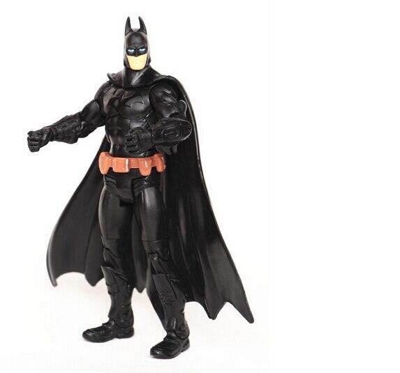 EDC Comic Super Heros Batman Action Figure Figure Boys Favourite Toys Kids Toy 18cm