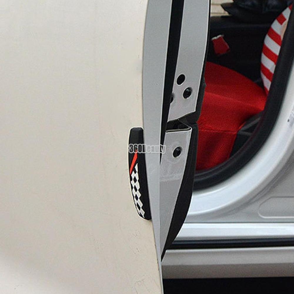 4pcs/lot Soft Silicone Car Door Edge Guards Bumper Protector Anti Scratch for Universal Car