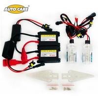 Cuidados Auto Xenon ESCONDEU Kit Farol Do Carro Fino Lastro 55 W H7 H11 9005/HB3 9006/HB4 H27/880/881 Xenon H1 Kit de Conversão Farol