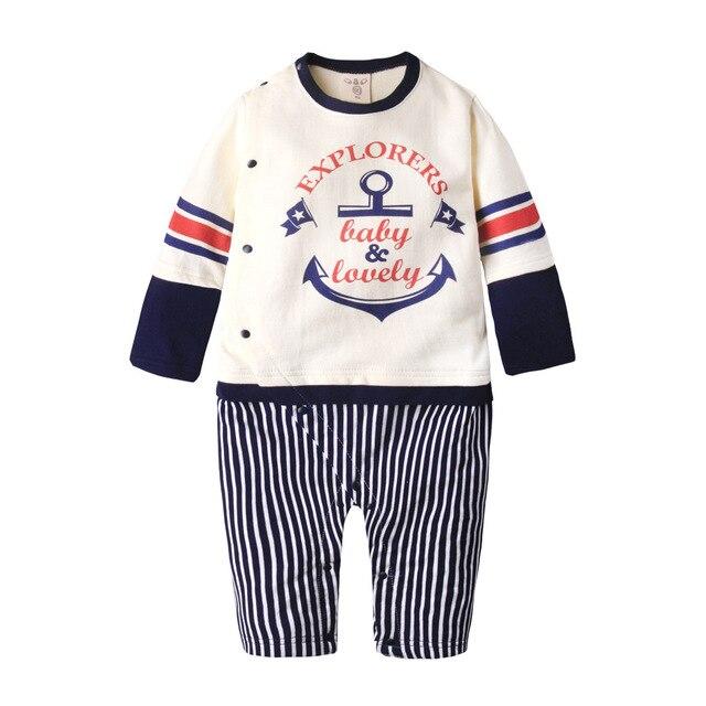 Base ball & Детские прекрасный Ребенка Ползунки цельный одежды девушки Пижамы Baby boy Одежда Для Новорожденных Детские Тела костюмы
