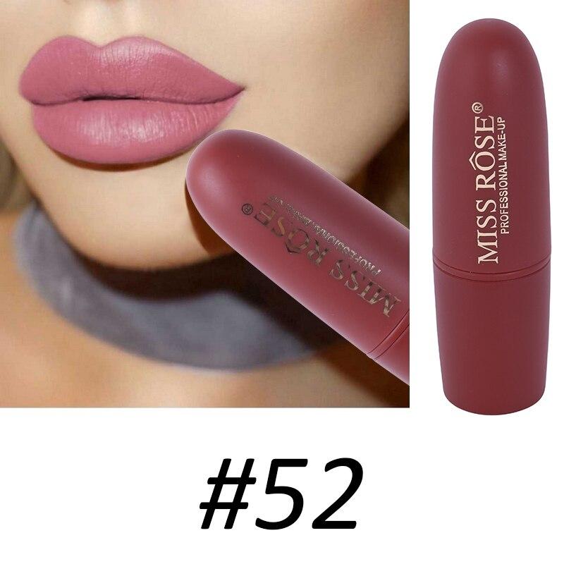 Women Makeup Lips Sexy Matte Lipstick Waterproof Velvet Batom Pigments Moisturizer Lipstick Matte Lips maquiagem New 18 55