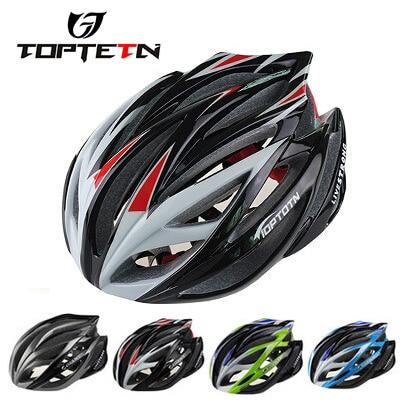 Nova TOPTETN kolesarska kolesarska moška ženska čelada EPS - Kolesarjenje - Fotografija 1