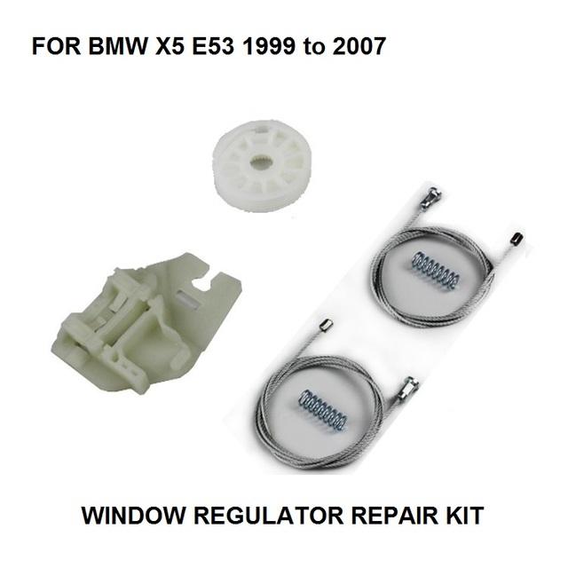 99-07 OE #51357125059 PARA BMW X5 E53 KIT de REPARO do REGULADOR ELÉTRICO DA JANELA ESQUERDA TRASEIRA NOVA