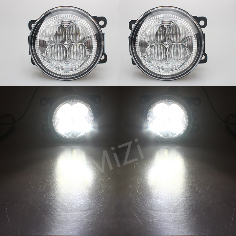 For Mitsubishi PAJERO IV Van V80 V90 Box 2007-2012 10W High power high brightness LED set lights lens fog lamps