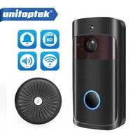 Wireless Wifi Video Doorbell 1.0MP 720P Outdoor Security Camera IR Alarm Wireless Smart Video IP Intercom Wi Fi Two Way Audio