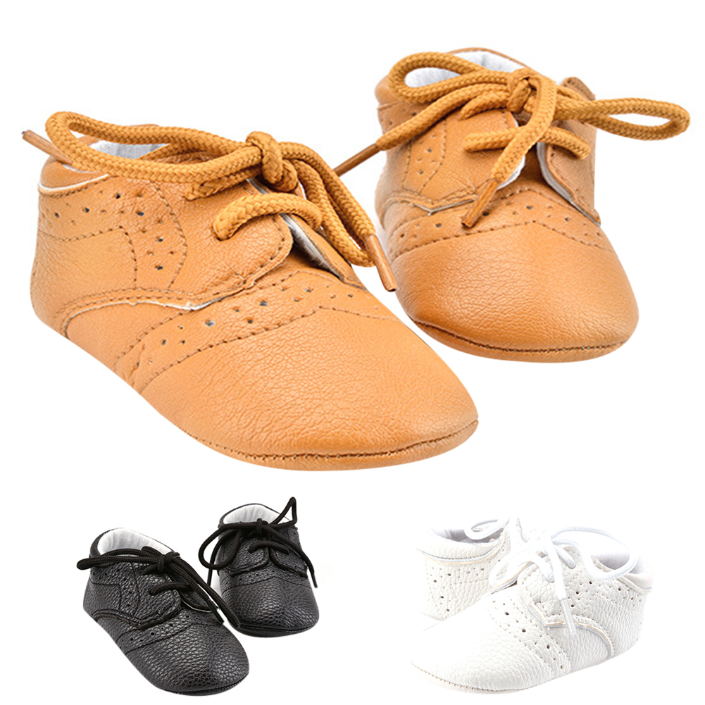 1 Pair Baby Walking Shoes Infant Toddler Crib Bright Layer