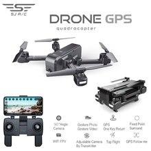 SJRC Z5 Quadrocopter avec HD 720 P/1080 P caméra GPS Drone 2.4G/5G Wifi FPV maintien d'altitude suivez-moi Mode Dro vs Visuo XS812