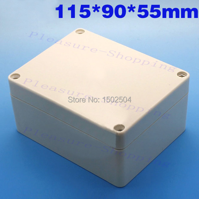 1PC Plastic Enclosure waterproof Project Box Instrument Enclosure 115x90x55mm DIY Electronic Junction case NEW 1 piece free shipping plastic enclosure for wall mount amplifier case waterproof plastic junction box 110 65 28mm
