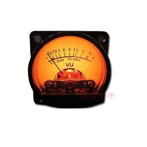 Image 2 - 1 xแผงVU Meter WARM Back Lightเครื่องขยายเสียงตัวบ่งชี้และเสียงระดับAMP DBตารางDC 6V 12Vสำหรับบอร์ด