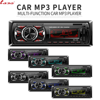 1 Din Bluetooth Car Radio MP3 Player Car Audio Stereo Bluetooth Stereo Radio 12V FM AUX Handsfree Calling SWC Romote Autoradio