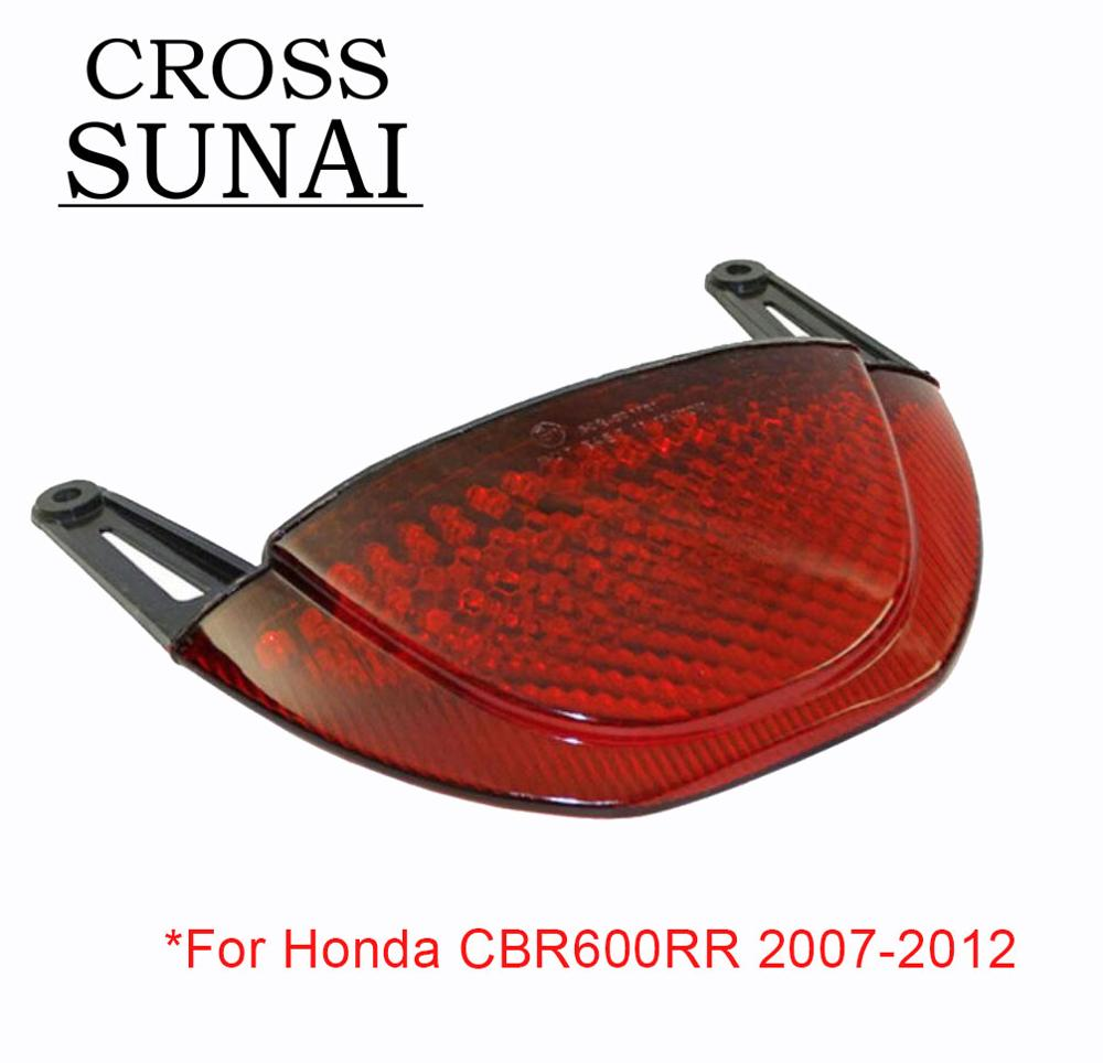 2013-2019 Honda CBR600RR CBR 600RR Integrated Signal LED Tail Light Smoke 2018