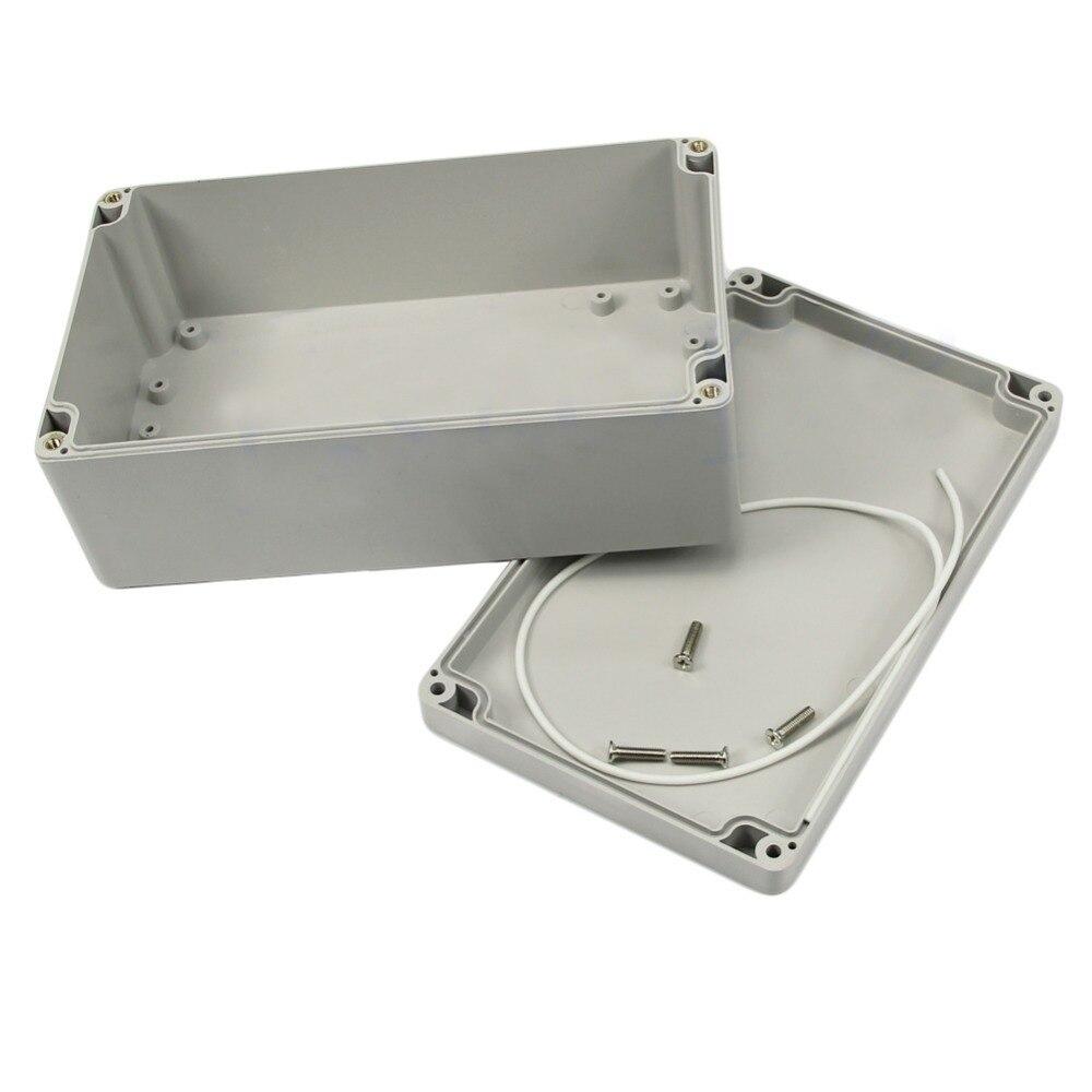 Nouveau 1 pc Mini 200x120x75mm Étanche En Plastique Boîte de Projet Électronique Boîtier Cas VE836