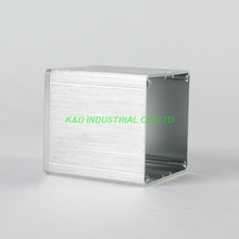 1pc Sliver Aluminum Transformer cover Case Box protect For Amp 84x80x91mm