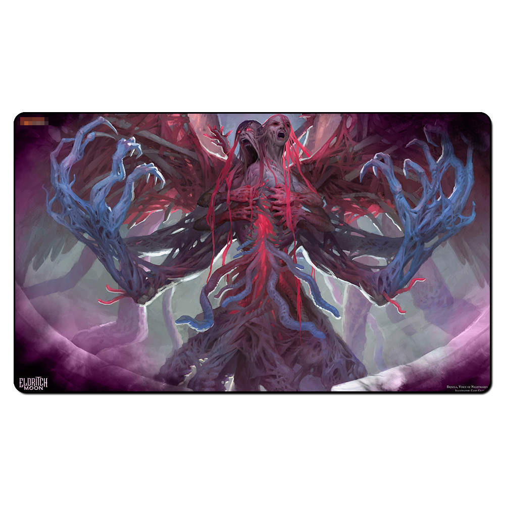 (Brisela Voice of Nightmares) Board Games Playmats, Magical Card The Games Gathering Play Mat, Custom Design With Free Gift Bag