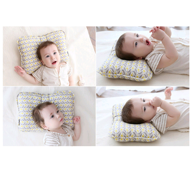 Rectangular Head Shaping Baby Newborn Support Pillow