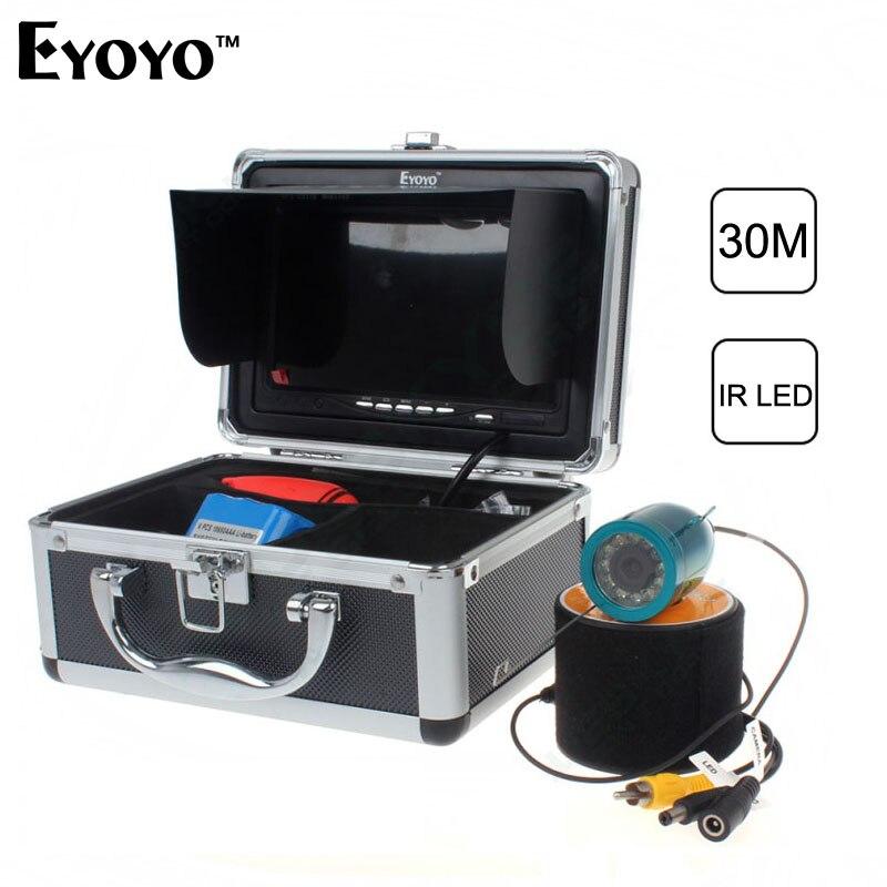 Updated eyoyo original 30m fish finder underwater fishing for Underwater fish camera