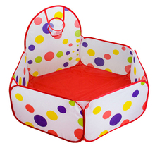 Outdoor Fun Sports Toy Tents Children Play Tent Play House Basketball Playhouses Can Be Folded Basket Ball Pool kids tent Toys