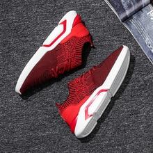 LAOCHRA Heren Lente Ademende Sneakers Heren Casual Schoenen Veterschoenen Mode Sokken Schoenen Voor Heren Designer Trainers