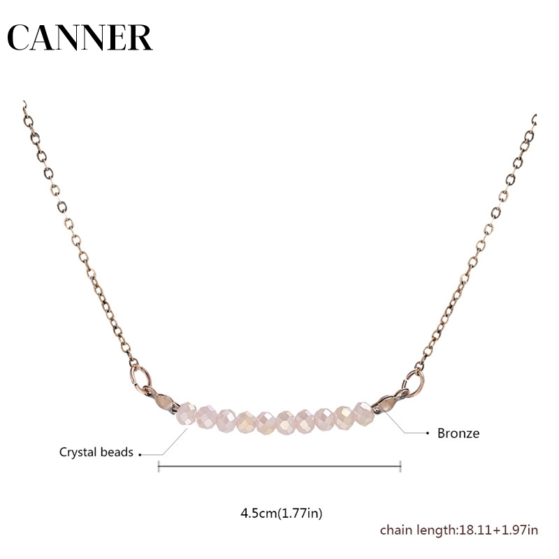 Canner 2019 New Choker Necklace Fashion Collares Vintage Bronze Bead Pendant Statement Necklace For Women Jewelry R4 Moderate Cost