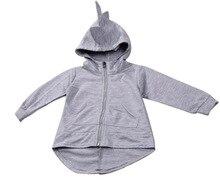 Girls Sweatshirts Hoodies Children Clothing Autumn And Winter Baby girl Thick Cotton Tops Kids Cute Cartoon Rabbit Hooded Coat