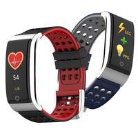 HOT Fitness E08 ECG PPG Blood Pressure Heart Rate Monitor Fitness Tracker Smart Bracelet