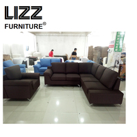 Modern style furniture L sofa living room furniture set beanbag accent chair loveseat sleeper sofa sectional sofa couch