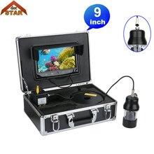 """Подводная рыболовная видеокамера рыболокатор """" цветной экран 1/3"""" SONY CCD 700TVL Водонепроницаемая 22 светодиода вращающаяся на 360 градусов камера"""
