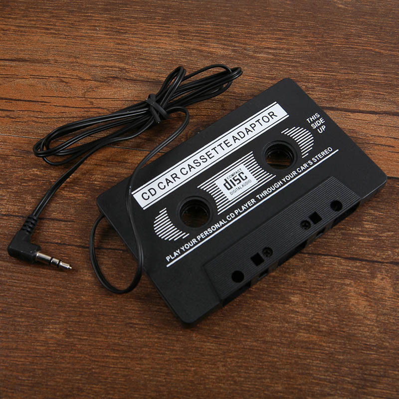 Cheap New Audio Car Cassette Tape Adapter Converter 3 5 MM For Iphone Ipod MP3 font