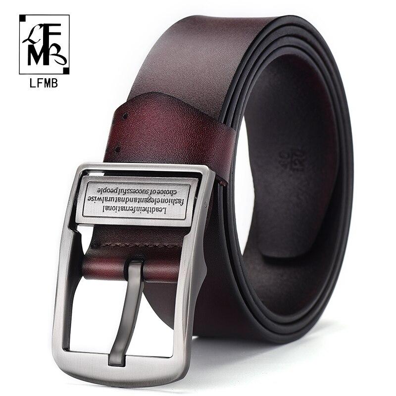 [LFMB]leather belt men belt cummerbunds male genuine leather strap leather belt for men ceinture homme Business Male Men's Belt