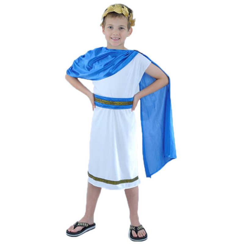 d24ca7ae81ed ... Kids Boy Girl Christmas Roman Clothes Prince Princess Ancient Roman  Clothing Halloween Arab Cosplay Costumes for ...