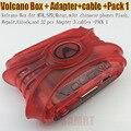 Последние Вулкан Box с активирован Пакет 1 Для ПРОЦЕССОРА Unlock Флэш & Ремонт + 28 шт. адаптер 3 кабели