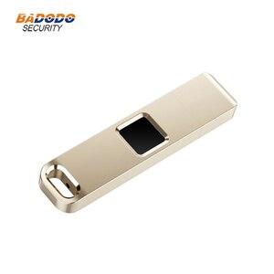 Image 3 - 32 기가 바이트 64 기가 바이트 지문 암호화 된 USB 2.0 플래시 드라이브 하이테크 펜 드라이브 보안 메모리 USB 디스크 스틱