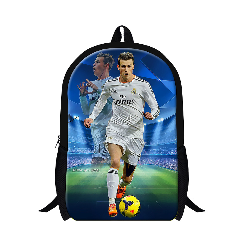 Aliexpress Fashion Children Boys Football 3d Printed School Bags For Mens Casual Shoulder Backpack Kids Book Bag Mochila Infantil From Reliable