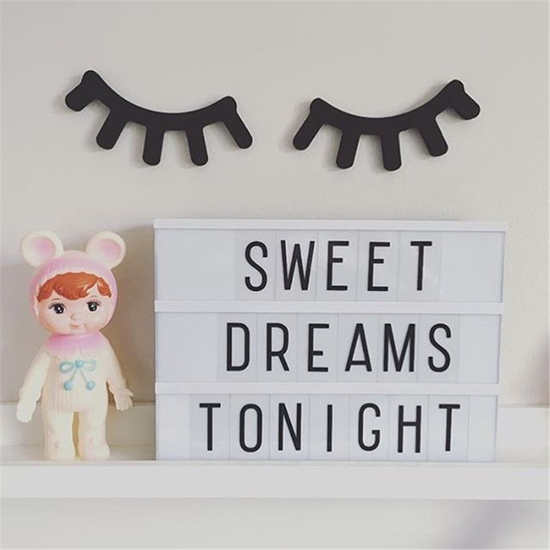 Led A4 A6 Size Combination Lightbox Night Lamp Home Diy Message Board Cinema Lightbox For Bedroom Decoration Kids Novelty Gift