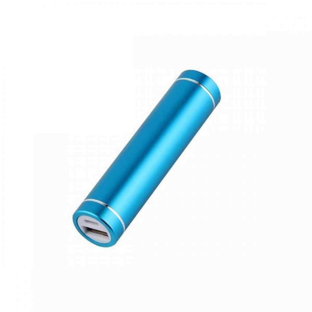 العالمي USB علبة صندوق شحن كيت DIY 1X18650 شاحن بطارية مربع DIY لسامسونج Xiaomi الهاتف المحمول حالة فقط ، دون البطارية
