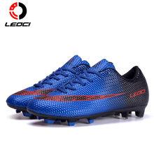 LEOCI hombres mujeres niños botas De fútbol al aire libre marca  entrenadores deportes ZAPATOS BARATOS zapatillas 6849246da8c98