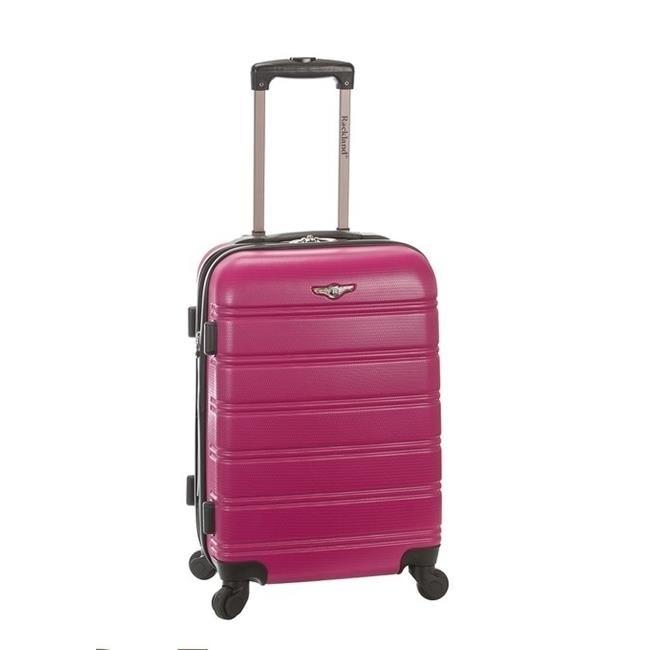 Rockland F145-MAGENTA 13 x 10 x 20 in. Luggage - Magenta yuanhaibo 16 1b 13 x 2 yhb f145