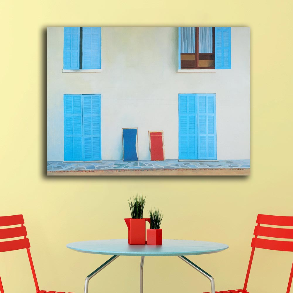 A Collection of Six Art Posters by DAVID HOCKNEY Painting Home Decor ...