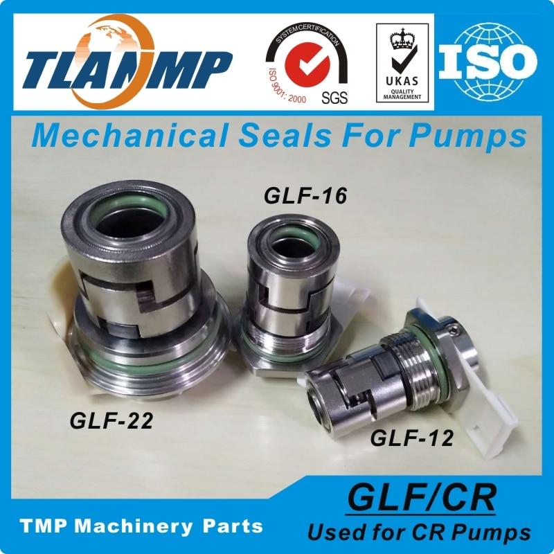 GLF-16 JMK-16 Mechanical Seals for CR10/CR15/CR20 Multi-stage Pumps Shaft Size 16mm Cartridge Seals(HQQV/HQQE/HUUV/CR/CRI/CRN16)