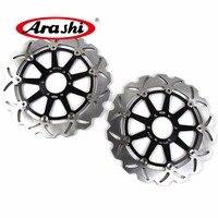 ARASHI For APRILIA SL 1000 FALCO 1000 2000 2004 CNC Front Brake Rotors Brake Disc 2000 2001 2002 2003 2004 RSV1000 MANA 850