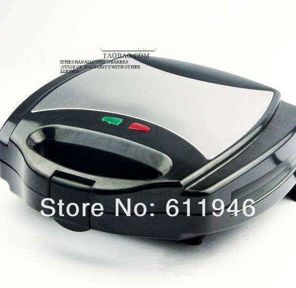 ¡Caliente! Seguridad de temperatura ajustable control Sandwich Maker 220V eléctrica máquina de gofres de electrodomésticos de cocina herramientas - 5