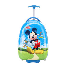New 2018 New Anime Girl Travel Luggage Child Rolling School Bag Cartoon Students Trolley Case Children Boarding Box Gift(China)