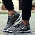 Formadores para Os Homens de Moda de nova Mens Sapatos Casuais Sapatos de Corrida Ao Ar Livre esporte Sapatos Masculinos Zapatillas Hombre Luz Suave Além de Grande Tamanho 45