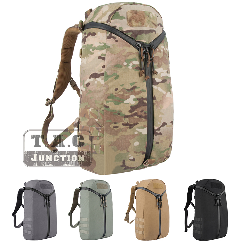 Emerson Tactical Y Shape Zipper Backpack Multicam Quick Open Utility Bag EDC Shoulder Bag With Loop Patch Pannel