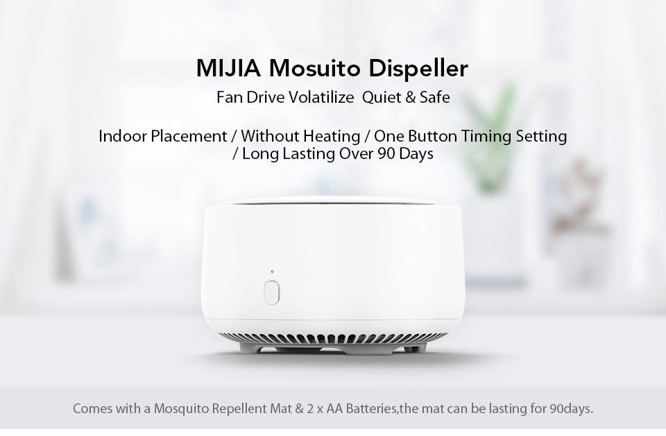 Xiaomi Mijia Newest Original Mosquito Dispeller Garden Electric Household Insert Killer Harmless Mosquito Repeller (1)