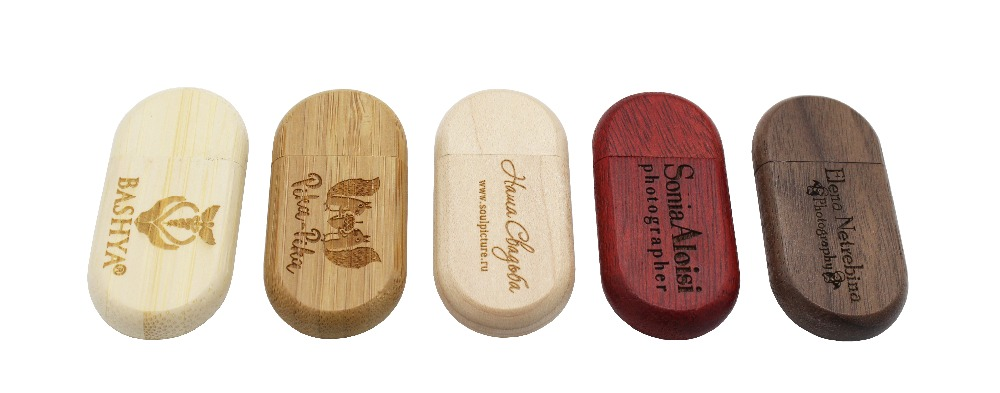 BiNFUL Customize LOGO USB flash drive 4gb 8gb 16gb 32gb pen drives Maple wood usb stick