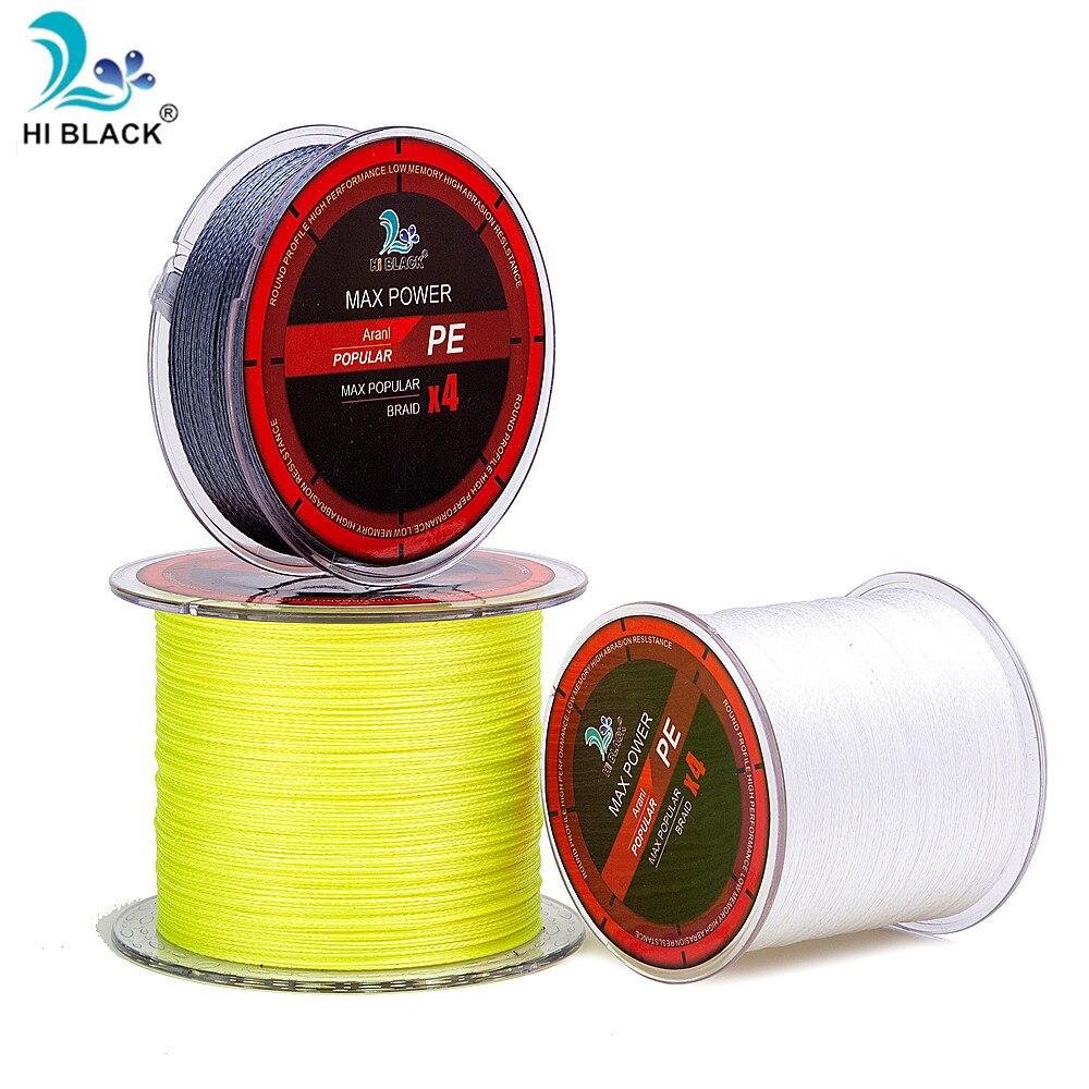 300 м 500 м 1000 м 4 нитки плетена волосінь - Риболовля - фото 6