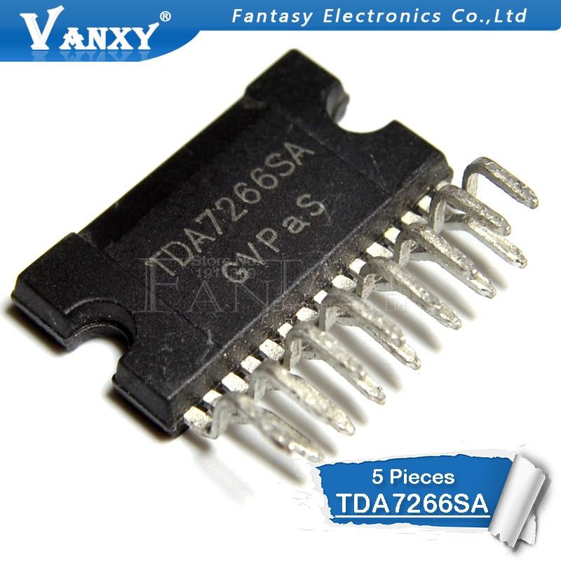 5pcs TDA7266SA ZIP-15 TDA7266 ZIP15 ZIPaudio Amplifier Amplifier New Original